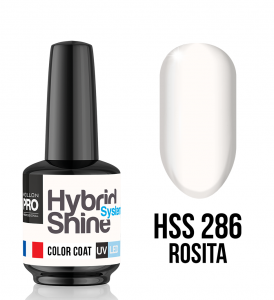 Lakier hybrydowy Hybrid Shine System - Color UV/LED - 286. Rosita