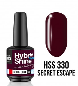 330. Secret Escape - Lakier hybrydowy Hybrid Shine System - Color UV/LED - Mollon PRO