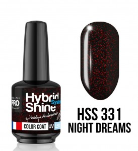 331. Night Dreams - Lakier hybrydowy Hybrid Shine System - Color UV/LED - Mollon PRO