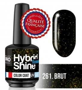 Lakier hybrydowy Hybrid Shine System - Color UV/LED - 261 Brut