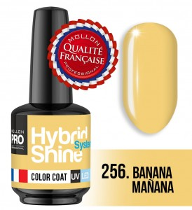 Lakier hybrydowy Hybrid Shine System - Color UV/LED - 256 Banana Maňana