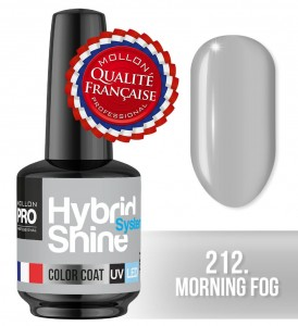 Lakier hybrydowy Hybrid Shine System - Color UV/LED - 212 Morning Fog