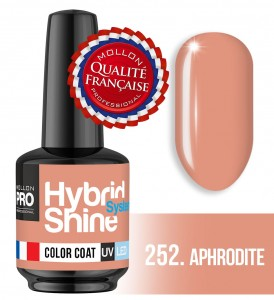 Lakier hybrydowy Hybrid Shine System - Color UV/LED - 252 Aphrodite
