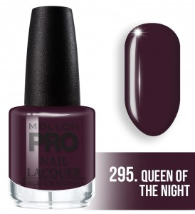 295. Queen of the night - Lakier Klasyczny Hardening Nail Lacquer 15 ml - Mollon PRO