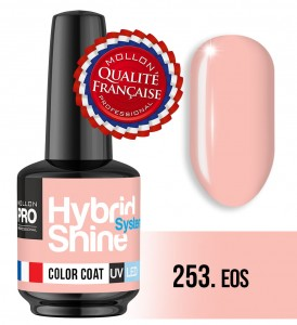 Lakier hybrydowy Hybrid Shine System - Color UV/LED - 253 Eos