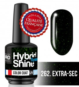 Lakier hybrydowy Hybrid Shine System - Color UV/LED - 262 Extra-Sec