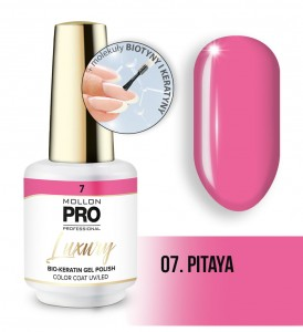 07. PITAYA LUXURY GEL POLISH COLOR COAT - HYBRYDA ŻELOWA UV/LED Mollon PRO 8ml