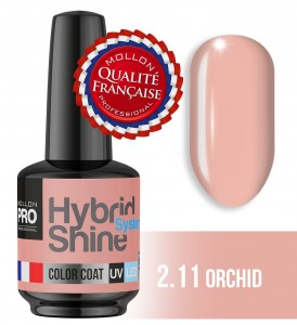 Lakier hybrydowy Hybrid Shine System - Color UV/LED - 2/11 ORCHID