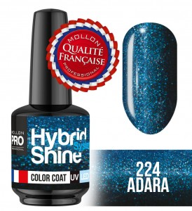 Lakier hybrydowy Hybrid Shine System - Color UV/LED - 224 Adara
