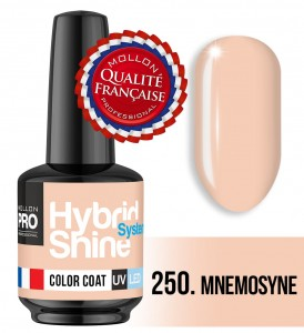 Lakier hybrydowy Hybrid Shine System - Color UV/LED - 250 Mnemosyne
