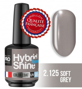 Lakier hybrydowy Hybrid Shine System - Color UV/LED - 2/125 SOFT GREY