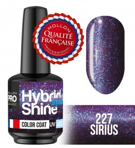 Lakier hybrydowy Hybrid Shine System - Color UV/LED - 227 Sirius