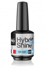Top do lakierów hybrydowych Hybrid Shine System - Top Coat UV/LED 8ml
