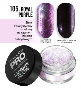 Luxury Glow 105 ROYAL PURPLE - Mollon PRO