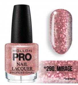 Hardening Nail Lacquer Mollon PRO nr 290 Mirage