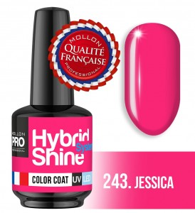 Lakier hybrydowy Hybrid Shine System - Color UV/LED - 243 Jessica
