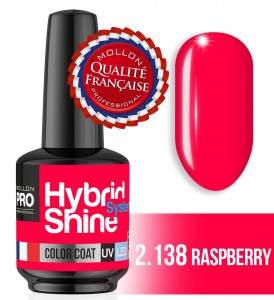 Lakier hybrydowy Hybrid Shine System - Color UV/LED - 2/138 RASPBERRY