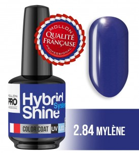 Lakier hybrydowy Hybrid Shine System - Color UV/LED - 2/84 MYLENE