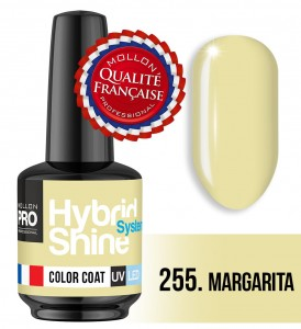 Lakier hybrydowy Hybrid Shine System - Color UV/LED - 255 Margarita