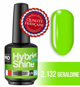 Lakier hybrydowy Hybrid Shine System - Color UV/LED - 2/132 GERALDINE
