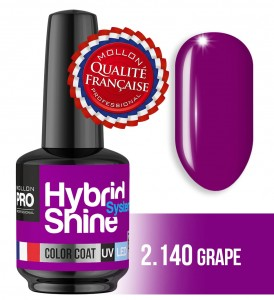 Hybrid Shine System - Color UV/LED - 2/140 GRAPE