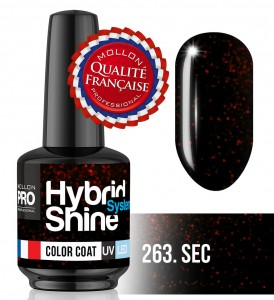 Lakier hybrydowy Hybrid Shine System - Color UV/LED - 263 Sec