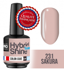 Lakier hybrydowy Hybrid Shine System - Color UV/LED - 231 Sakura