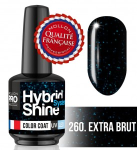 Lakier hybrydowy Hybrid Shine System - Color UV/LED - 260 Extra Brut