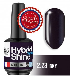 Lakier hybrydowy Hybrid Shine System - Color UV/LED - 2/23 INKY