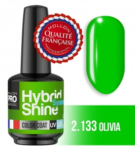 Lakier hybrydowy Hybrid Shine System - Color UV/LED - 2/133 OLIVIA