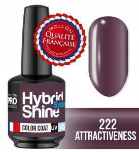 Lakier hybrydowy Hybrid Shine System - Color UV/LED - 222 Attractiveness