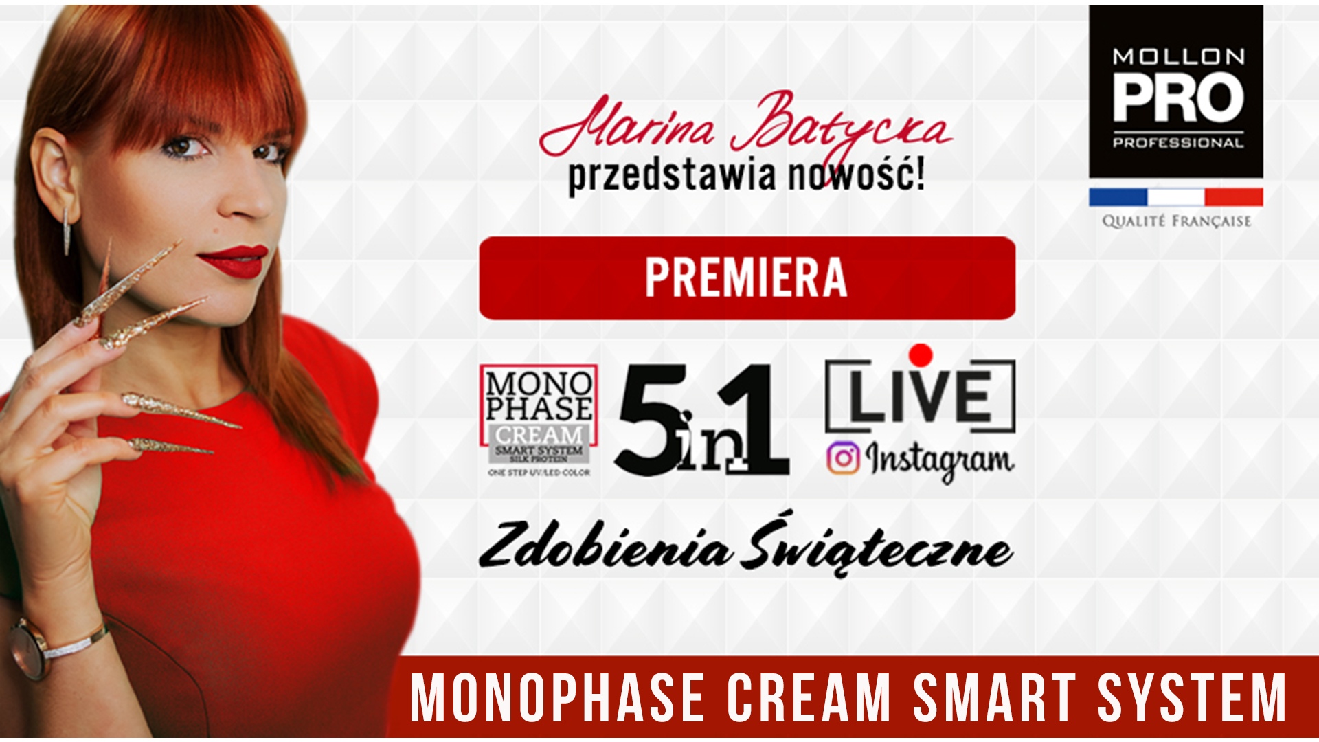Live Instagram Mollon PRO - Premiera Manophase Cream Smart System
